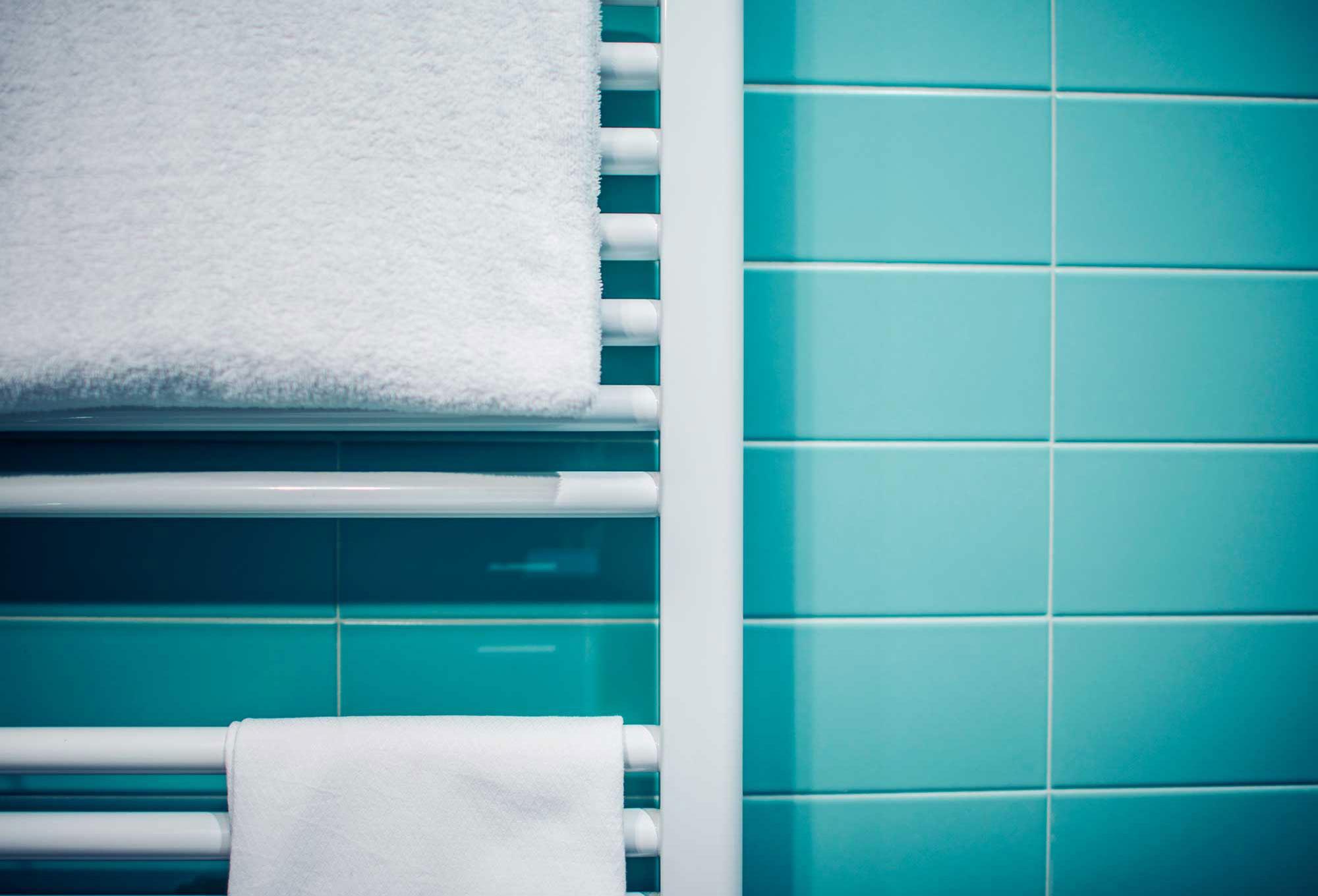 Vorbemusterung beim Badausstatter